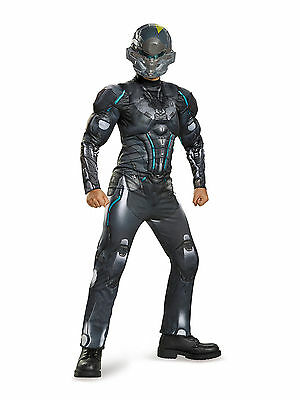 HALO SPARTAN LOCKE CHILD MUSCLE COSTUME Halloween Cosplay DressUp B5