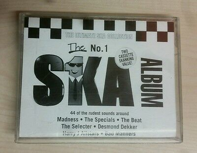 THE ULTIMATE SKA COLLECTION THE No 1 SKA ALBUM DOUBLE  CASSETTE TAPES. USED