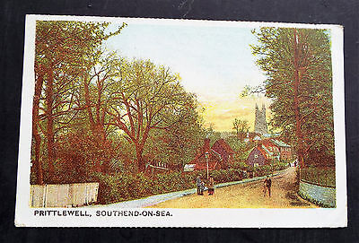 'Prittlewell, Southend on Sea' Postcard (1906)