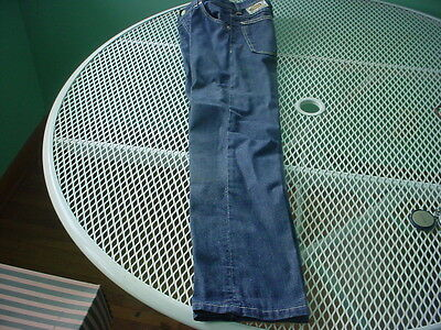 Vintage 1960's Childs Farah Of Texas Gold Strikes Jeans With Knee Pad Size 9