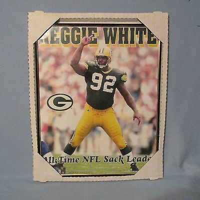 Reggie White Green Bay Packers  NFL Football 1996 Refective Plaque Mirror