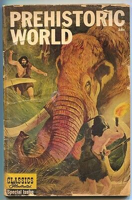 Classics Illustrated Special Issue Prehistoric World 167 1962 FR