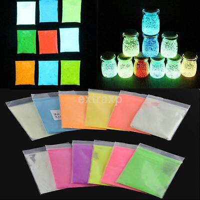10g Fluorescent Powder Pigments use with resin,wax,varnish,paints,nail art etc.