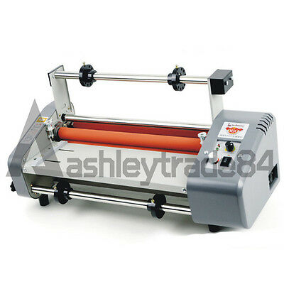 Roll Laminator Four Rollers Hot Cold Laminating Machine 220V A3 Paper 330mm