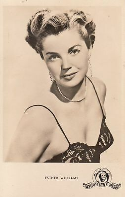 ESTHER WILLIAMS - alte, unsignierte Kunst+Bild-AK