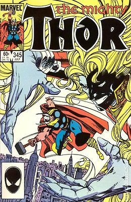Thor (1962-1996 1st Series Journey Into Mystery) #345 FN