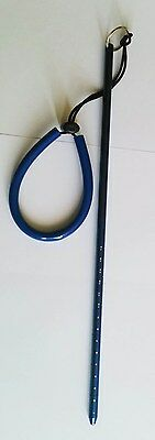 300 mm x 8 mm aluminium pointer with wrist lanyard     /Scuba diving
