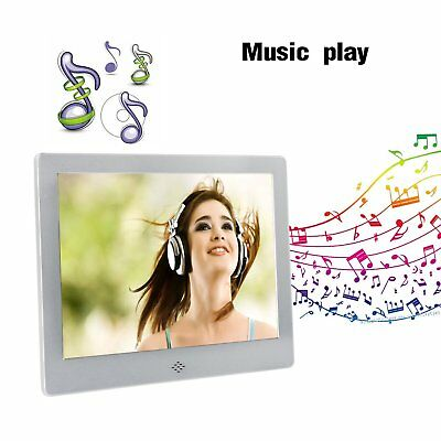 9 Inch Digital Photo Frames with Auto On/Off Timer with 4GB Memory Card UK Plug