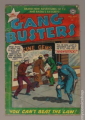 Gang Busters (1948) #33 GD 2.0