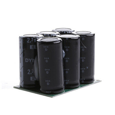 6Pcs  2.7V 120F Farad Capacitor Super Capacitor With Protection Board Module