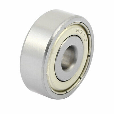 Metal Shielded Sealed Low Speed Deep Groove Ball Bearing 7mmx26mmx9mm
