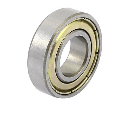 Metal Shielded Sealed Low Speed Deep Groove Ball Bearing 10mmx22mmx6mm
