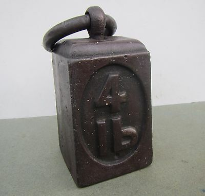 Vintage 4 Lb Weight