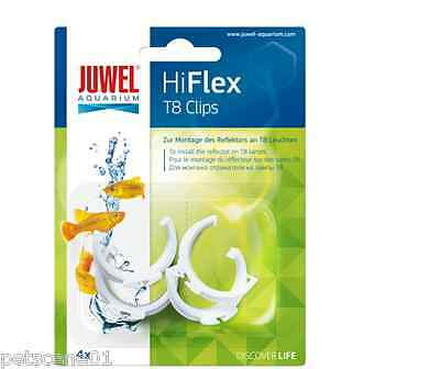 Juwel Hiflex T8 Clips Hi Flex X 4 Clips - To Install The Reflector To T8 Lamps