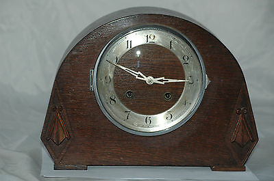 Antique Oak Case Mantle Clock,restore.