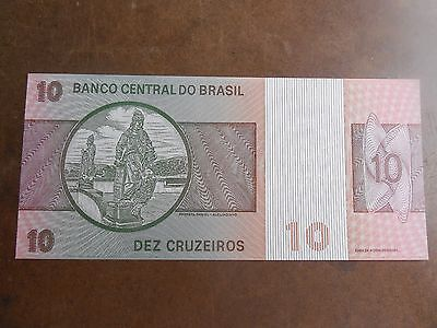 10 Duzentos Cruzeiros Banco Central Do Brasil Note