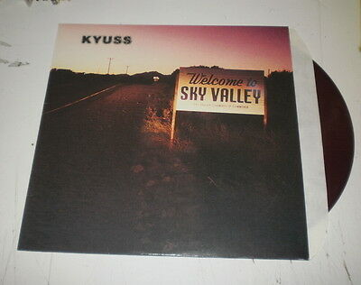 Kyuss - Welcome To The Sky Valley - Rare Lp Purple 1990 Elektra Records - M-/ex-