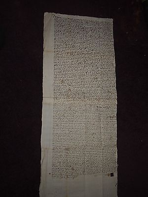 1657 Legal Document - Chalmers Maybole Mayboll Ayr Scotland
