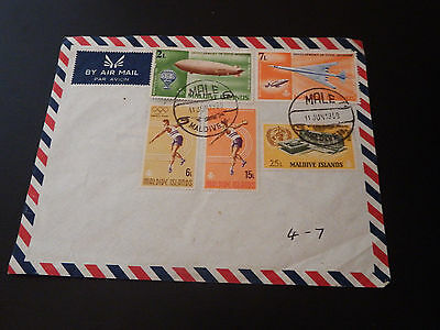 "STAMPS "" Maldives Air Mail """