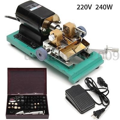 Pearl Drilling Holing Machine Driller Jade Driller Jewelry Tools Set 220V 240W