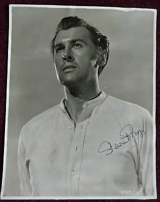 STEWART GRANGER: signed photo