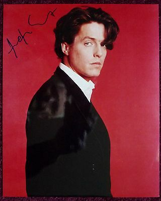 HUGH GRANT: signed photo