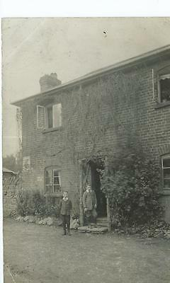 Herefordshire RP of a house at Michaelchurch Esceley PU 1911