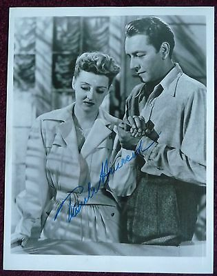 PAUL HENREID : signed photo      ***Now Voyager***