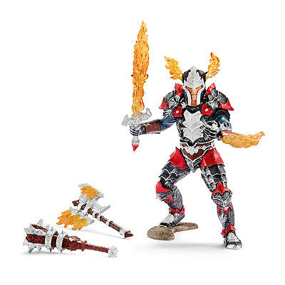 Schleich 70122 Dragon Knight Hero With Weapons (Knights) Plastic Figure
