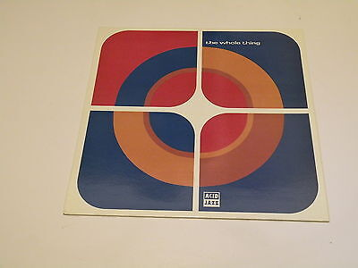 The Whole Thing - The Whole Thing - Lp 1993 Acid Jazz Records Made In Uk M-/ex++