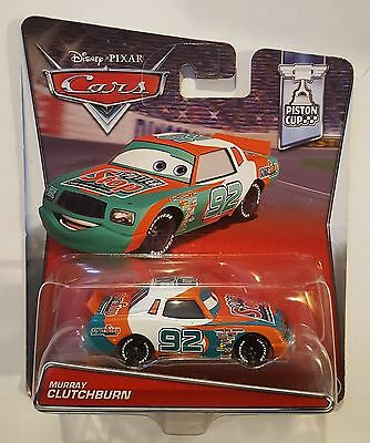 Disney Pixar Cars Murray Clutchburn Hard To Find Us & International Shipping