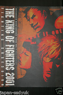 JAPAN King of Fighters 2001 Fighting Obsession SNK Book