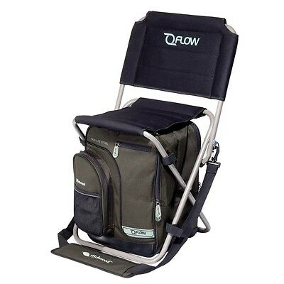 Wychwood Qflow Pack-Lite Folding Chair With Bag & Carry Strap Fishing Seat H4034