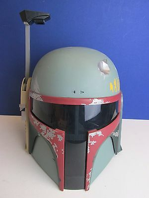 RARE star wars BOBA FETT HELMET MASK sounds TOY cosplay dress up HASBRO c61