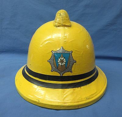 Cromwell Fire Helmet 1983 Size 57 - 59 Fire And Rescue