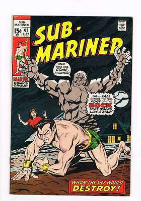 Sub-Mariner # 41 Whom the Sky Would Destroy ! grade 5.0 hot book !!