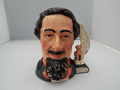 Royal Doulton Character Jug Charles Dickens Ltd.edition.1St Quality