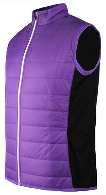 ** SALE** 52% Off - Ladies FootJoy Golf Puffer Hybrid Vest - Violet/Black/White