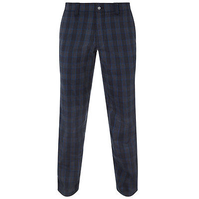 Callaway Golf 2016 Mens Plaid Thermal Stretch Golf Trousers Performance Pant