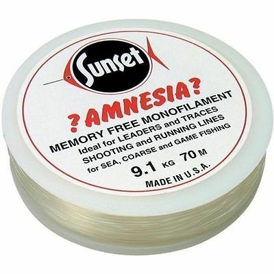 Amnesia Trace and Leader Fishing Line Clear 6lb - 30lb *No Memory* - CLEARANCE!!