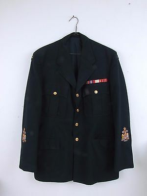 Canadian Military Blazer with Ribbons