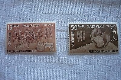 Pakistan Mint Stamps - 1963 Freedom from Hunger Set