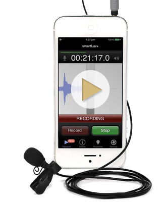 Rode SmartLav+ Broadcast Quality Lapel Mic For iPhone & iPad