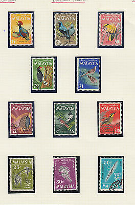 A very nice old Malaysia 1965 Page  Birds to $10