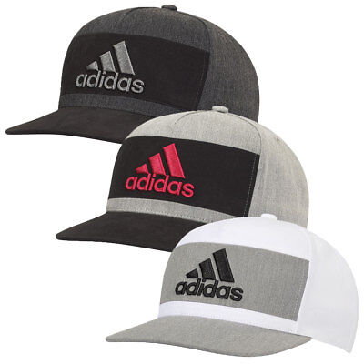Adidas Golf 2017 Mens Heather Block Snapback Hat Cap