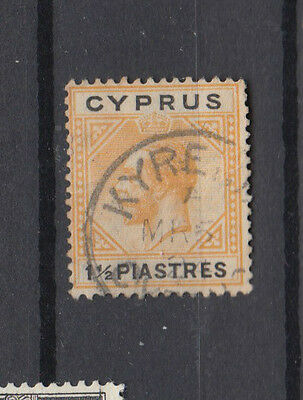 A very nice old Cyprus George V 1.5 Piastres issue