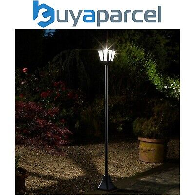 Smart Garden Solar Whitehall Post Bollard Super Bright Light Lamp Post 1.8m