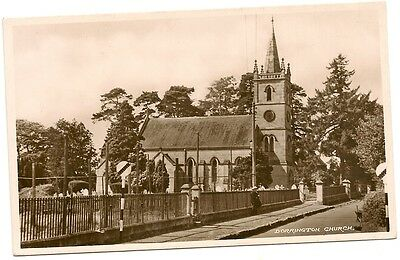 Old Postcard-DORRINGTON CHURCH-Licolnshire-UK-by R.M.&S.Ltd