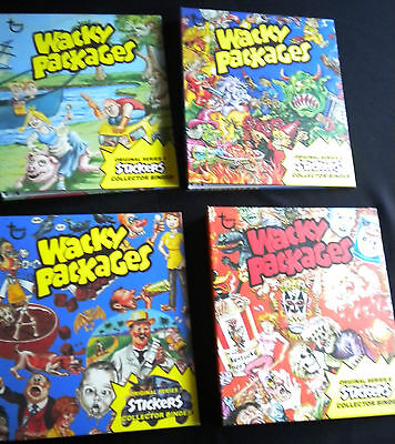 2013 Topps Limited Edition Wacky Packages 5th - 8th Series 5-8 Binders Set