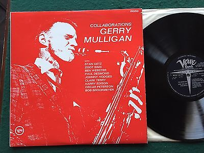 GERRY MULLIGAN collaborations 1962 UK MONO VERVE 1ST PRESS+STAN GETZ+ZOOT SIMS+